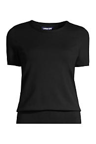 Women s Short Sleeve Supima Sweater 6ece1a637