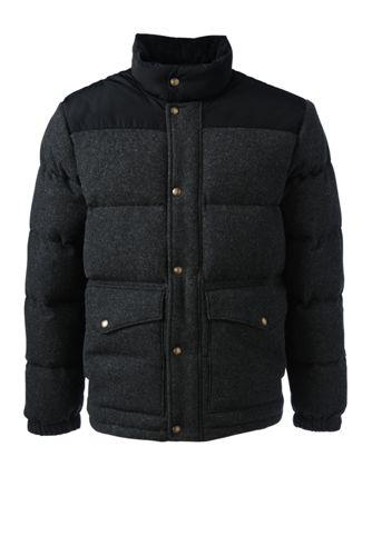 HyperDRY Daunen-Jacke im Blocking-Stil für Herren
