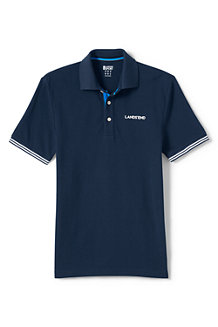 Men's Athleisure Navy Logo Polo