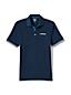 Men's Athleisure Navy Logo Polo
