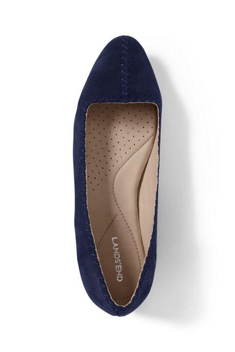 Women's Stitched Flats