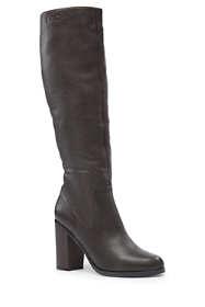 Women's Tall Block Heel Boots