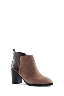 Women's Suede/Leather Ankle Boots