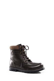 Boys' Lugged Leather Boots