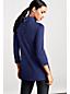 Langes Baumwoll/Viskose-Shirt mit geknöpftem Webkragen