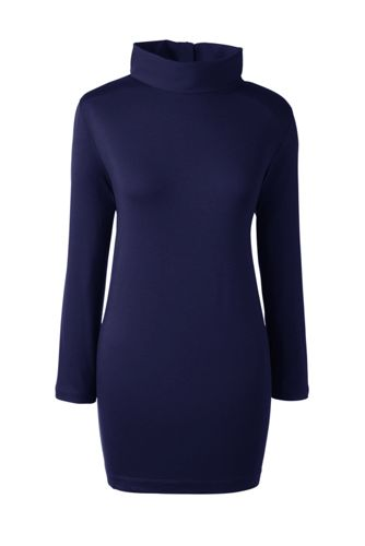 Women's Regular Roll Neck Tunic