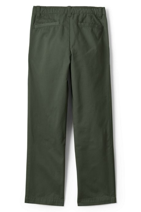 Little Boys Slim Iron Knee Chino Cadet Pants