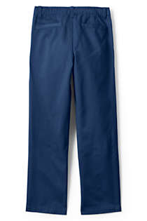 Boys Iron Knee Chino Cadet Pants, Back