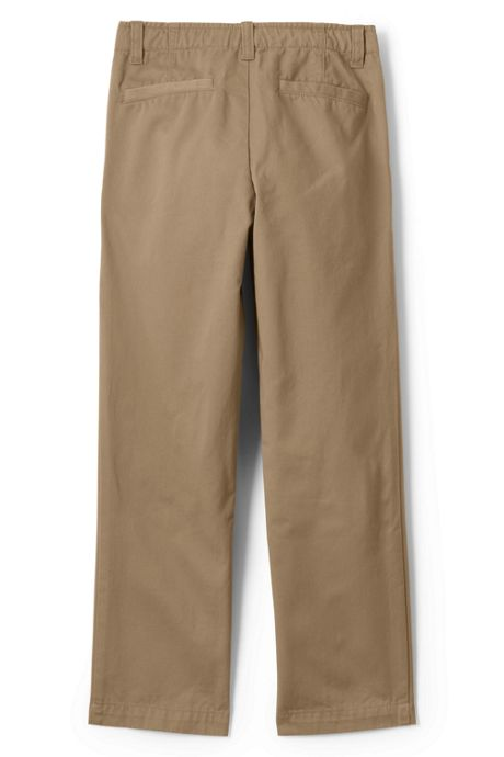 School Uniform Boys Iron Knee Chino Cadet Pants
