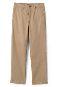 School Uniform Boys Husky Iron Knee Chino Cadet Pants