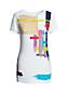 T-Shirt, Multi Pinselstrich