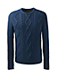 Men's Regular Merino Blend Cable Sweater