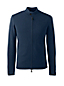 Men's Regular Merino Blend Sweater Jacket