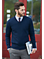 Men's Regular Merino V-neck Sweater