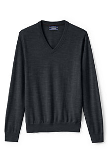 Men's Merino V-neck Jumper