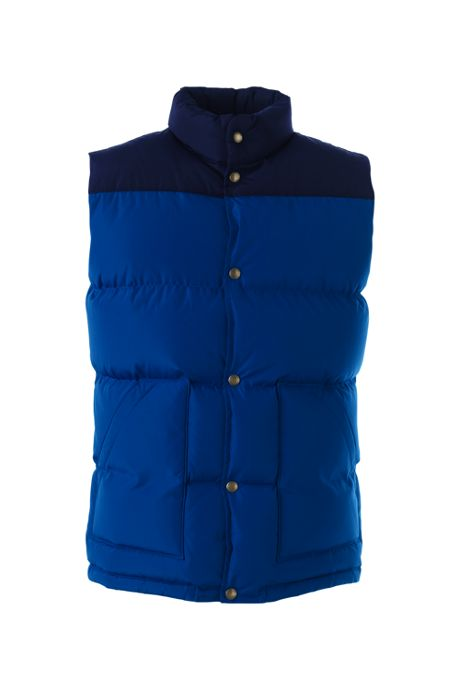 Men's 600 Down Colorblocked Vest