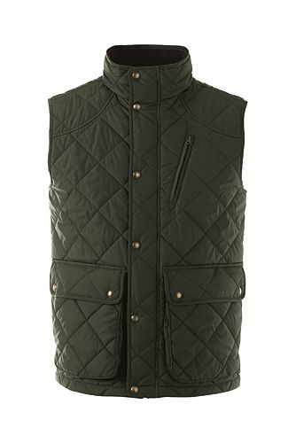 Primaloft Quilted Vest 475143: Forest Night