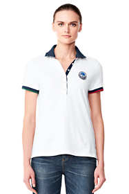 Women's Mesh Polo Shirt