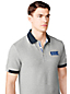 Men's Athleisure Grey Logo Polo