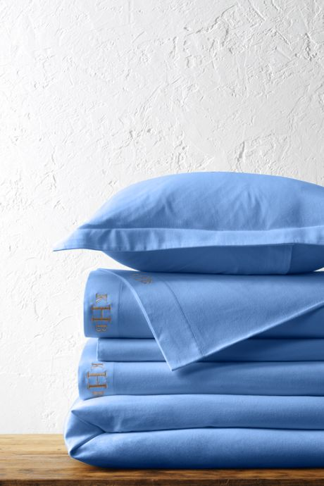 School Uniform 5oz Velvet Flannel Solid Duvet Cover