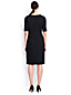 Women's Regular Ponte Jersey Darted Dress
