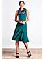 Women's Regular Ponte Jersey Seamed A-line Dress
