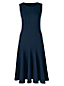 Women's Regular Ponte Jersey Seamed A-line Dress