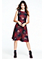 Women's Regular Woven Flounce Dress