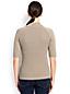 Rippstrick-Pullover mit Stehkragen