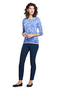 Women's Tall Supima 3/4 Sleeve Print Sweater, Unknown
