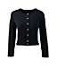 Le Cardigan Court Supima® Manches 3/4, Femme Stature Standard
