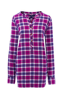 Women's Lightweight Brushed Flannel Tunic