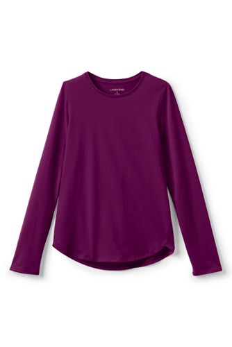 Little Girls' Long Sleeve A-line Tee