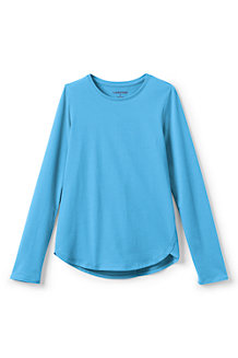 Girls' Long Sleeve A-line Tee