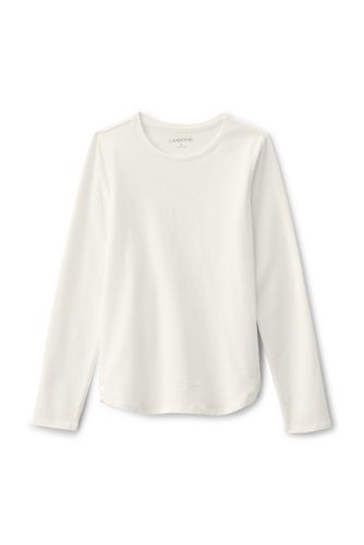 Toddler Girls' Long Sleeved A-line Tee
