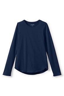 Le T-shirt Evasé Manches Longues Petite Fille