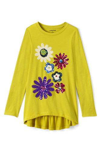 Leggingsshirt mit Rüschen für kleine Mädchen