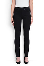 Women's Mid Rise Pull-on Skinny Jeans