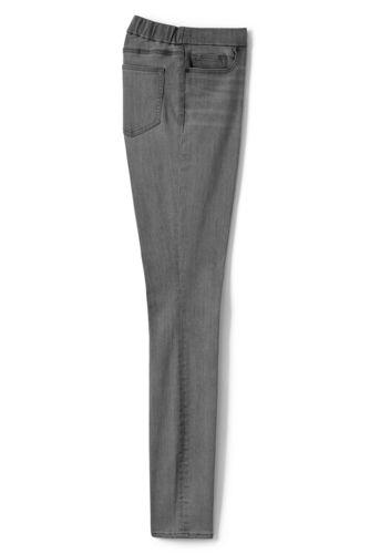 Le Jegging Skinny Noir Xtra Life™ Taille Rabaissée, Femme Stature Standard