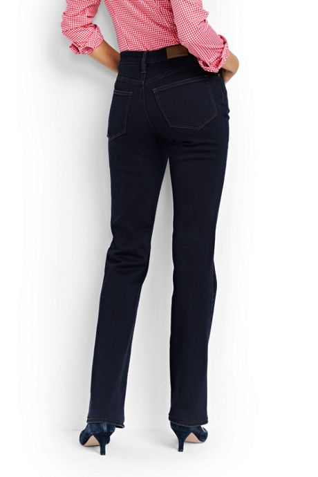 Women's Mid Rise Boot Cut Jeans