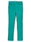 Le Pantalon Droit Stretch en Velours Côtelé Taille Mi-Haute, Femme Stature Standard
