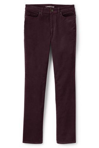 5546672d8d1 Women s Mid Rise Straight Leg Corduroy Pants