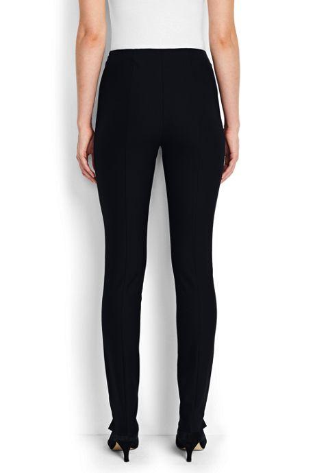 Women's Tall Mid Rise Bi-Stretch Slim Leg Pants