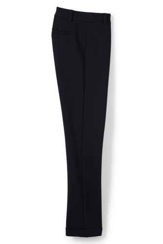 Women's Ponte Jersey Slim Leg Ankle Trousers