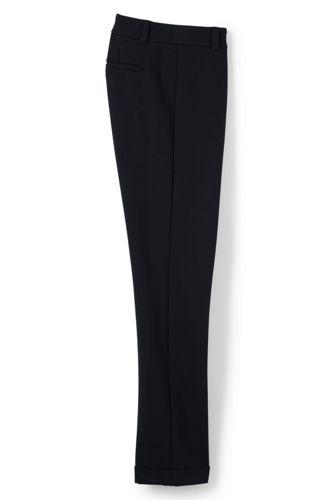 Knöchellange Umschlag-Pontéhose für Damen