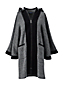 Le Manteau Cape à Capuche en Laine, Femme Stature Standard