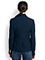 Marine-Blazer aus Wolle für Damen