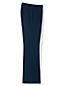 Le Pantalon Large Bleu Marine en Laine, Femme Stature Standard