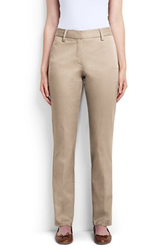 Pin Straight Chinos