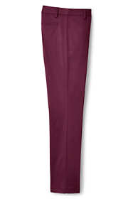 Women's Plus Size Petite Mid Rise Straight Leg Chino Pants